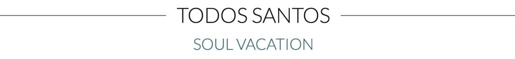 Todos Santos Soul Vacation